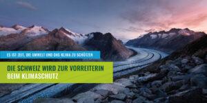 Vorreiter beim Klimaschutz, Aletschgletscher